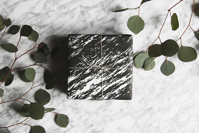 Paper Love Marble Wrapping Paper