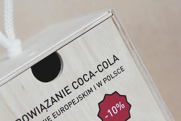 Holder for Coca-Cola