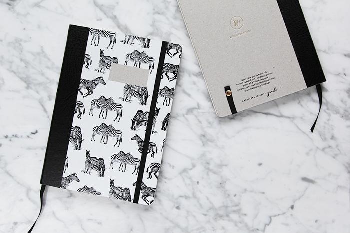 Paper Love Zebra Notebook