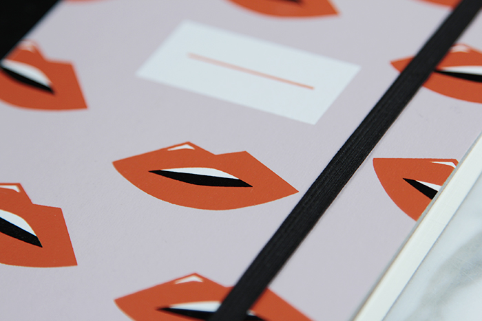 Paper Love Lips Notebook