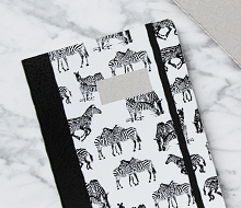 Paper Love Zebra Notebook